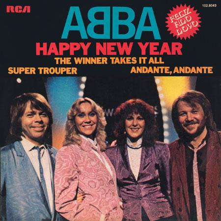 Abba happy new year piano sheet music